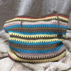 The Sak Crochet Multicolor Shoulder Bag